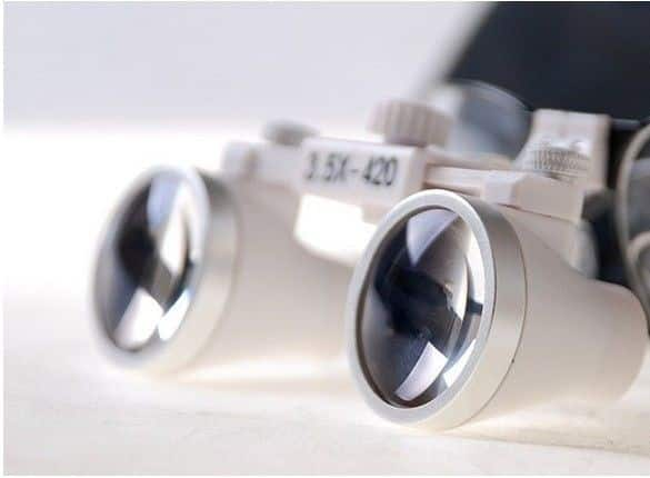 Dental Loupes 3.5X With Anti Fog Frame 3