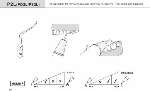 scaler insert P2L